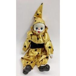 Pierrot stoffa e ceramica