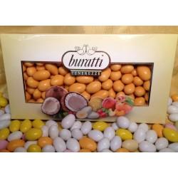 Confetti Arancio Tenerezze di Cioccolato Gusti Assortiti Buratti