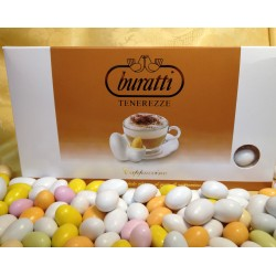Confetti Bianchi Tenerezze di Cioccolato Cappuccino Buratti