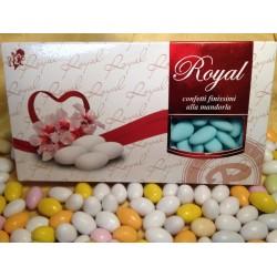 Confetti Azzurri Mandorla Intera Pelata Royal