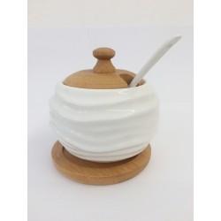 Zuccheriera/formaggiera ceramica