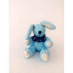 Coniglietto azzurro