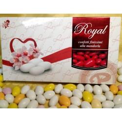 Confetti Rossi Mandorla Intera Pelata Royal