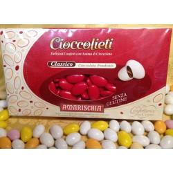 Confetti Cioccolato Fondente Rossi Amarischia