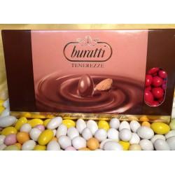 Confetti Tenerezze di Cioccolato Colore Rosso Buratti