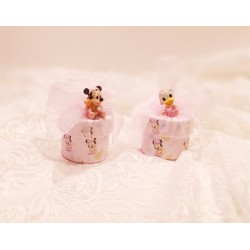 Scatoline rosa Minnie e Paperina