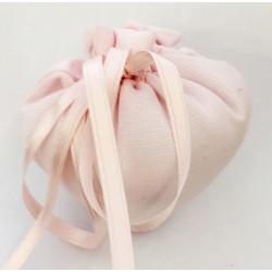 Cuore in tessuto colore rosa