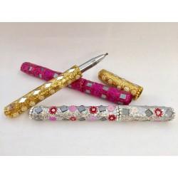 Penne glitterate colori assortiti