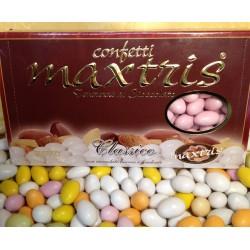 Confetti Tenerezze di Cioccolato Classico Rosa Maxtris