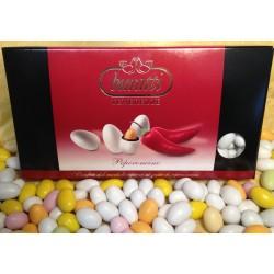 Confetti Bianchi Tenerezze di Cioccolato Peperoncino Buratti