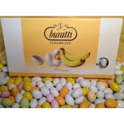 Confetti Bianchi Tenerezze di Cioccolato Banana Buratti